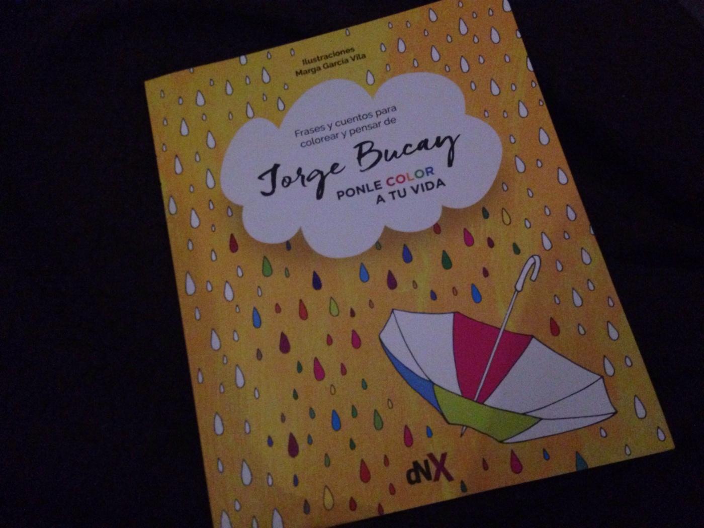 Frases y cuentos para colorear de Jorge Bucay – La chica del bolígrafo